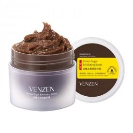 Скраб для лица и тела с коричневым сахаром VENZEN Brown Sugar Exfolianting Scrub (100 мл)