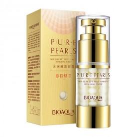 Крем для кожи вокруг глаз с экстрактом жемчуга BIOAQUA Pure Pearls Essentials Eye Serum