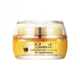 Крем для зоны вокруг глаз с золотом и муцином VENZEN Gold Snail Silky Hydrating