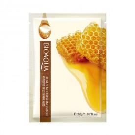 Маска тканевая с медом BIOAQUA Honey Nourishing Mask