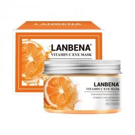 Патчі тканинні з вітаміном С LANBENA Vitamin C Eye Mask (50 шт)