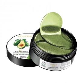 Гидрогелевые патчи KUGE Shea Butter с экстрактом авокадо и маслом Ши (60 шт)