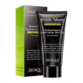 Маска-пленка очищающая BIOAQUA Black Mask Blackhead Removal Bamboo Charcoal