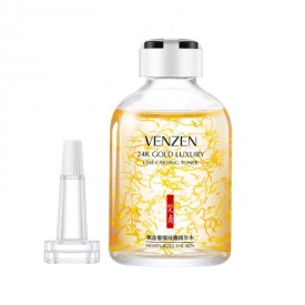Тонер-сиворотка 24K Gold Luxury Line Carving Toner VENZEN