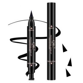 Водостойкая двусторонняя подводка-штамп QIC eyeliner