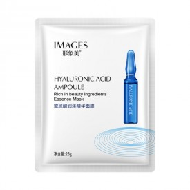 Маска тканевая с гиалуроновой кислотой IMAGES Hyaluronic Acid Ampoule Essence Mask