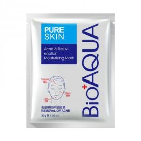 Маска тканевая для проблемной кожи от акне BIOAQUA Pure Skin Acne&Rejuvenation
