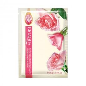 Маска тканевая с розой BIOAQUA Rose Moisturizing Mask