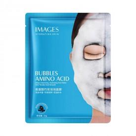 Очищающая пузырьковая маска с углем Bioaqua Bubbles Amino Acid Mask