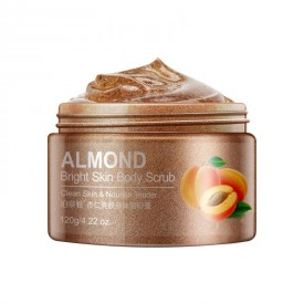 Скраб для тіла з абрикосом BIOAQUA Almond Bright Skin Body Scrub (120 мл)