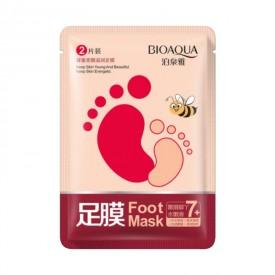Маска носочки для стоп с эффектом пилинга BIOAQUA Foot Mask