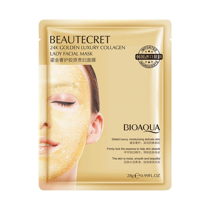Bioaqua Beautecret 24K Golden Luxury Collagen