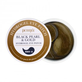 Petitfee&Koelf BLACK PEARL & Gold Hydrogel Eye Patch