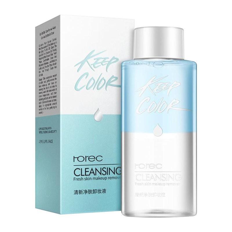 Средство для снятия макияжа c экстрактом зеленого чая Rorec Keep Color Cleansing Fresh Skin Makeup Remover (150 мл)